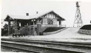 The Nashotah railway station opened in 1854 and served as an important gateway for individuals heading to the Lake Country for vacation or the Nashotah House to fulfill a religious vocation.