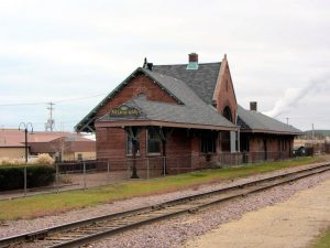The expansion of the Chicago Road was vital to the growth of South Milwaukee. The former Chicago and North Western Railway depot is pictured here in 2011.