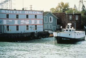 Commercial fishing was once an integral part of Port Washington's economy. This Smith Brothers fish shanty is the last remaining shanty in the city.