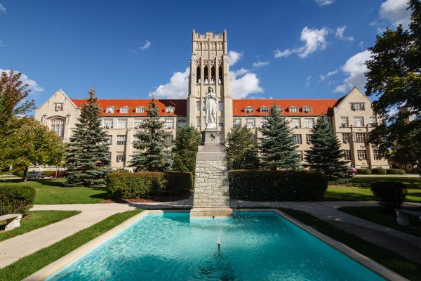 Although its origins date back to 1872, Mount Mary University first opened its Milwaukee campus in 1929 and continues to educated students today.