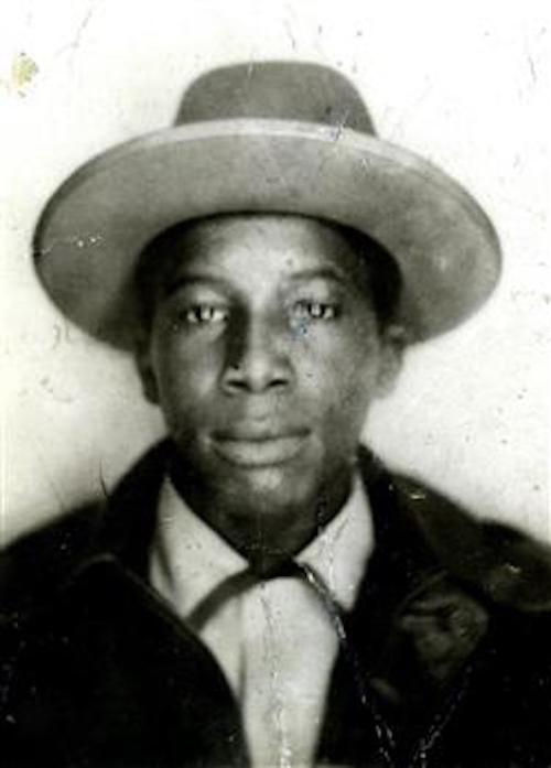 Portrait of Daniel Bell before he was killed by a Milwaukee police officer in 1958.