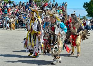 One of the ways Milwaukee's Native American communities maintain their presence is through cultural celebrations like the annual Indian Summer Festival.