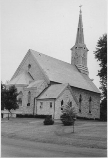 The Trinity Evangelical Lutheran Church in the community of Freistadt was established by Mequon's first German settlers in 1839. The structure that stands today is the congregation's fourth building and was constructed in 1884.