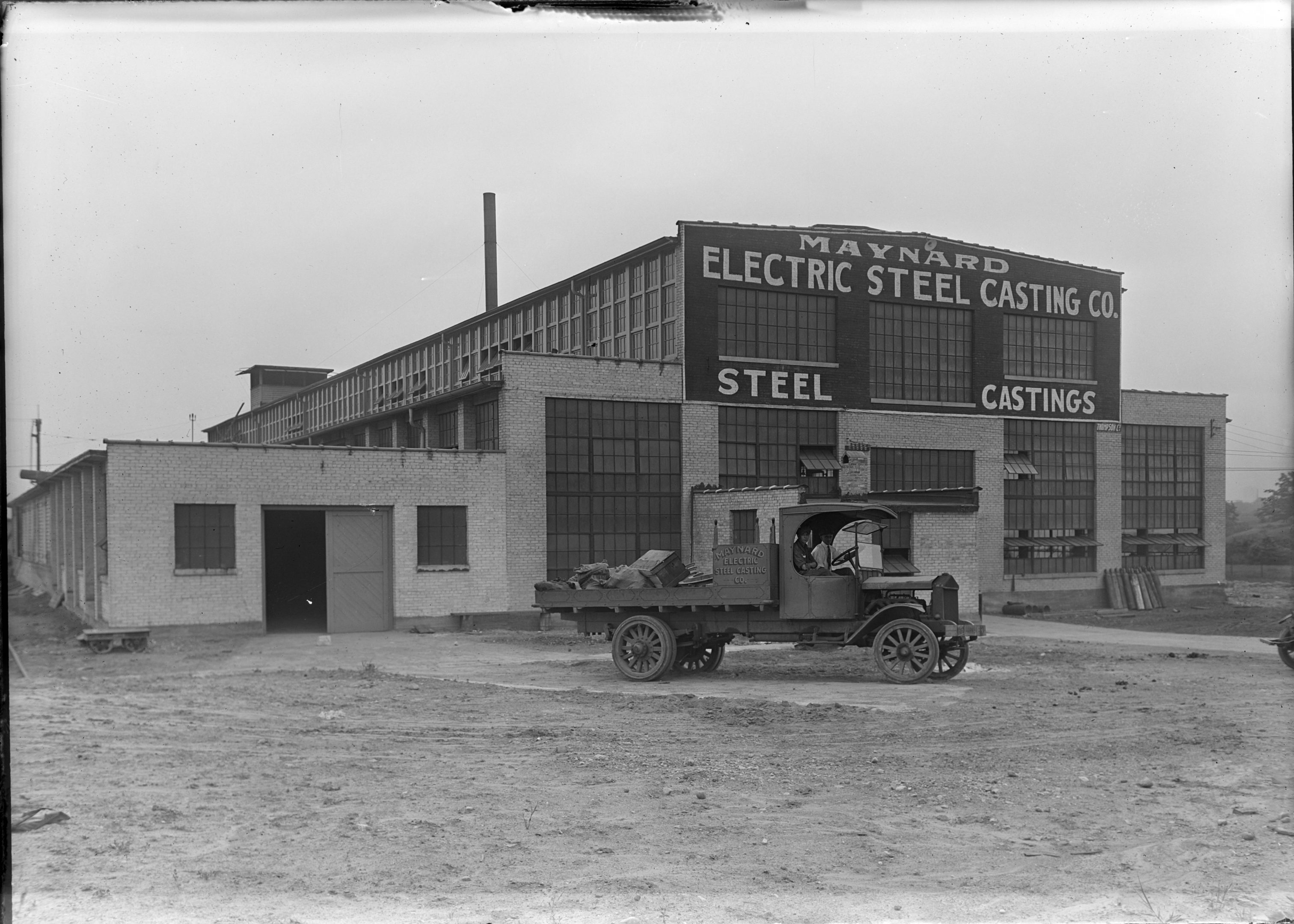 Manyard Electric Steel Casting has been located in Layton Park since World War I and continues its industrial operations in the neighborhood today.