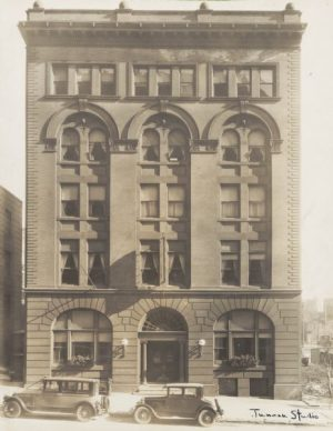 The old YWCA building on N. Jackson Street, pictured here, was built with funds donated by Elizabeth Plankinton in 1900.