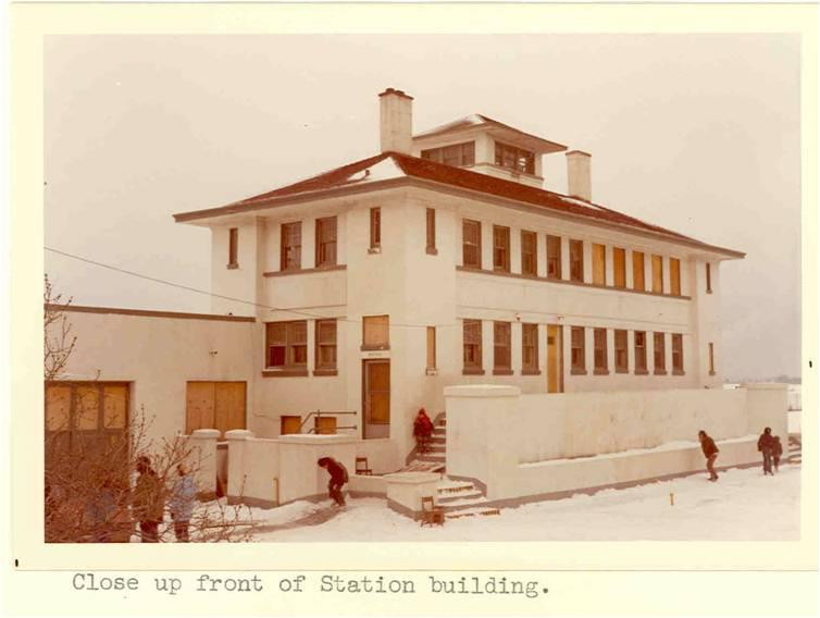 In August 1971, members of the American Indian Movement in Milwaukee occupied an abandoned Coast Guard station along the lakefront, pictured here. It became the first site of the Indian Community School.