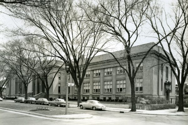 The Helene Zelazo Center was designed by the prominent Milwaukee architectural firm of Robert A. Messmer & Bros. in 1923 for Congregation Emanu El.