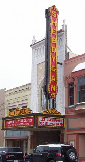The Sheboygan Theater was built in 1928 and served as both a movie and live theater venue. Following a five-year restoration project that began in 1996, the building is now on the National Register of Historic Places and houses the Stefanie H. Weill Center for the Performing Arts.