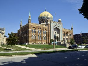 The Tripoli Shrine Temple in the Concordia neighborhood was completed in 1928. It is considered to be one of the best examples of Moorish Revival architecture in the United States.
