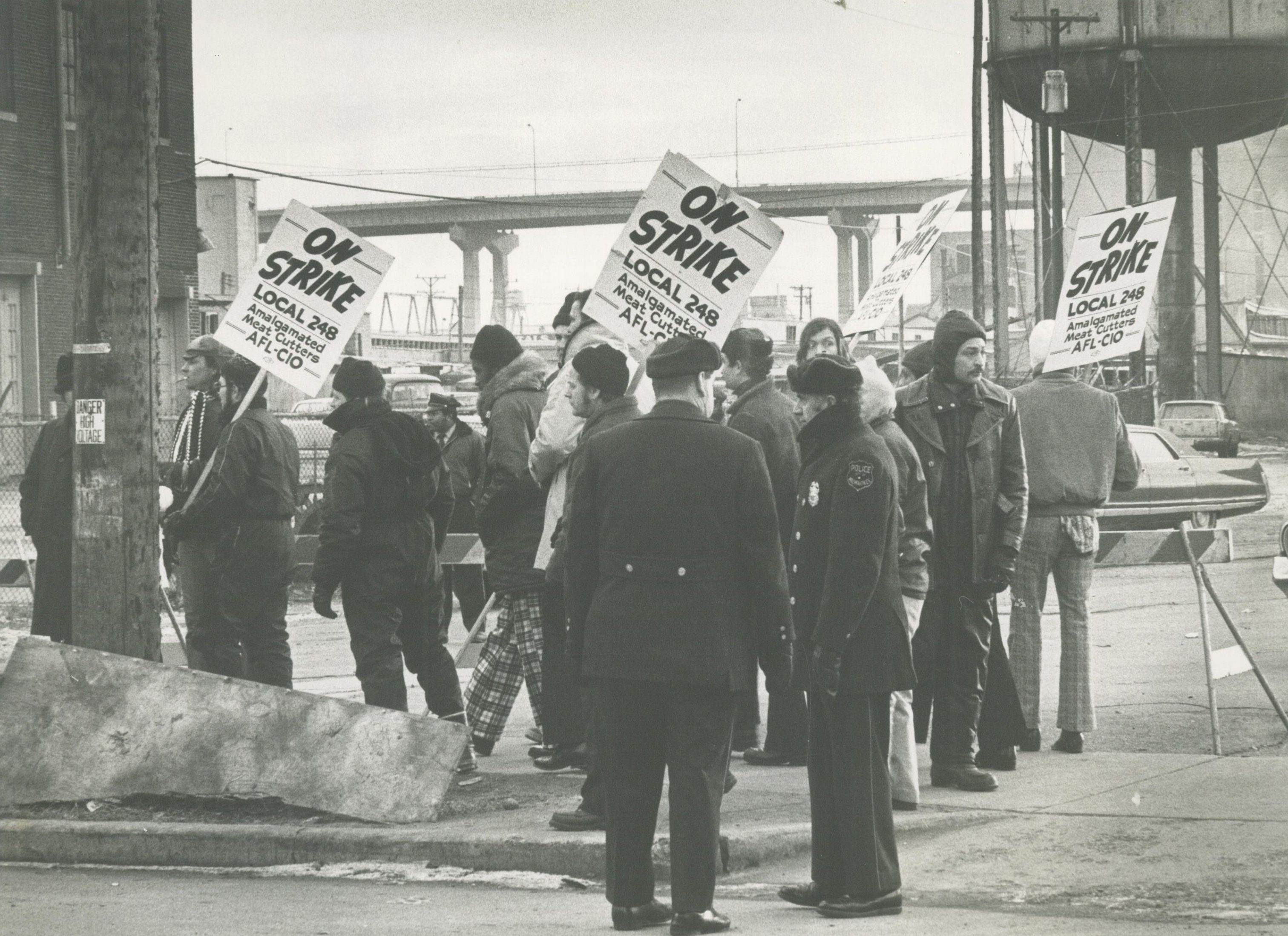 With the backing of the Milwaukee Labor Council, the Milwaukee 248 Meat Cutters Union went on strike against eight different meatpacking companies in 1975.