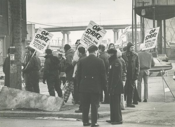 With the backing of the Milwaukee Labor Council, the Milwaukee 248 Meat Cutters Union went on strike against eight different meatpacking companies.