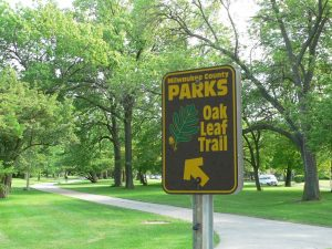 Milwaukee County is responsible for the maintenance of an extensive park system, including the 125-mile Oak Leaf Trail.