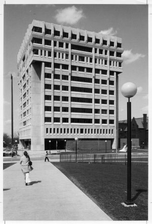 Enderis Hall was constructed in 1972 and houses the UWM Schools of Education, Social Welfare, and College of Health Sciences.