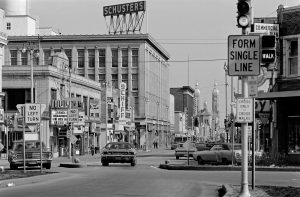 Pictured here in 1973, Mitchell Street was the commercial heart of Milwaukee's Polish neighborhoods on the city's South Side.