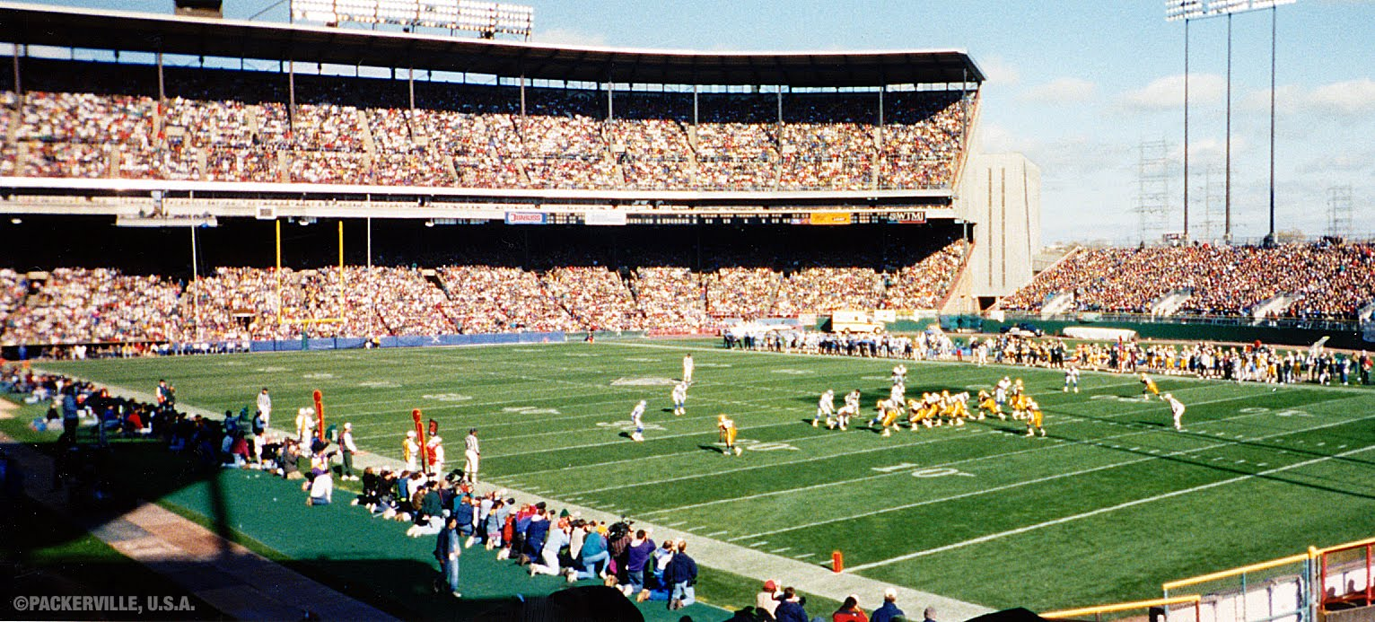 Until 1994, the Green Bay Packers brought football to Milwaukee and played three to four games at County Stadium each season.