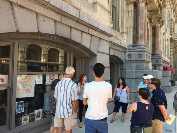 Historic Milwaukee, Inc. and its crew of volunteers offer walking tours of Milwaukee's architecture to promote preservation efforts.