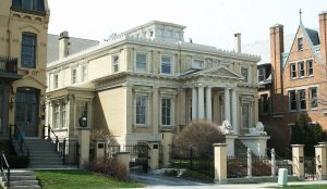 The Bradley Foundation, a Milwaukee-based organization that funds national philanthropic endeavors, is headquartered in the historic Edward Diedrichs House located on N. Franklin Place.