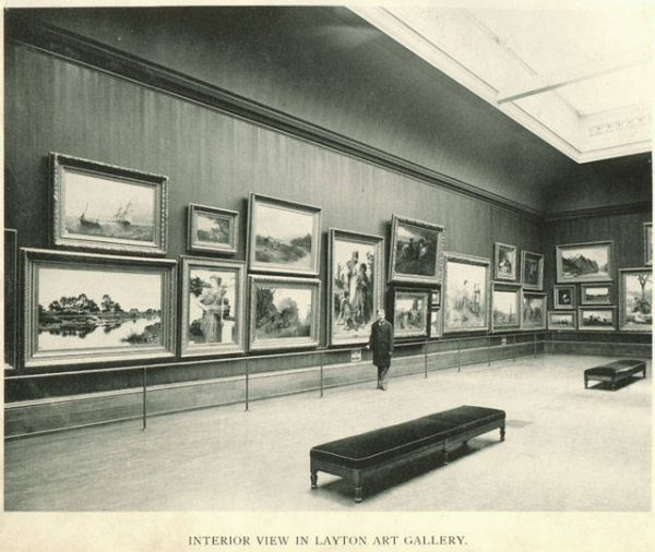 The Layton Art Gallery, which was constructed in 1888 with funding from Frederick Layton, was the foundational collection for the current Milwaukee Art Museum.