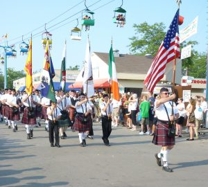 Milwaukee's Irish Fest was founded in 1981 and remains the world's largest festival celebrating Irish culture.