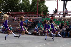 Irish dance remains a popular and integral part of Irish culture in Milwaukee. This performance is from Irish Fest in 2009.