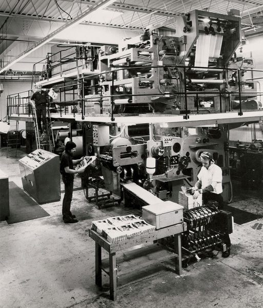 Now a printing industry leader, Quad/Graphics began as a small enterprise in a vacant factory in Pewaukee in 1971.