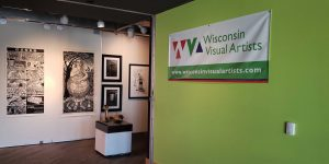 Founded in 1900, Wisconsin Visual Artists continues to provide exhibition opportunities for its members around the state today.