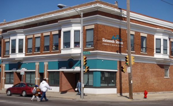 Since opening in 1969, the Sixteenth Street Community Health Care Centers have expanded to eight locations throughout the Greater Milwaukee area. Their Chavez Drive location is pictured here.