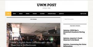 Today, the UWM Post exists as an entirely digital news source, reflective of the increasing number of Milwaukee publications that provide readers with material online rather than in print.