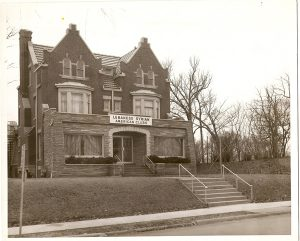 The headquarters for the Lebanese Syrian American Club, pictured here in the 1960s, was once located on Highland Avenue.