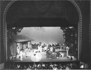 "Members of the Florentine Opera Company perform ""Madama Butterfly"" at the Pabst Theater in 1968."