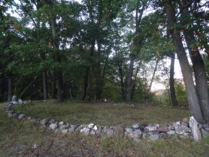 This Stone Circle, located on the Circle Sanctuary Nature Preserve near Madison, is one of the Wiccan ceremonial sites used on the property.