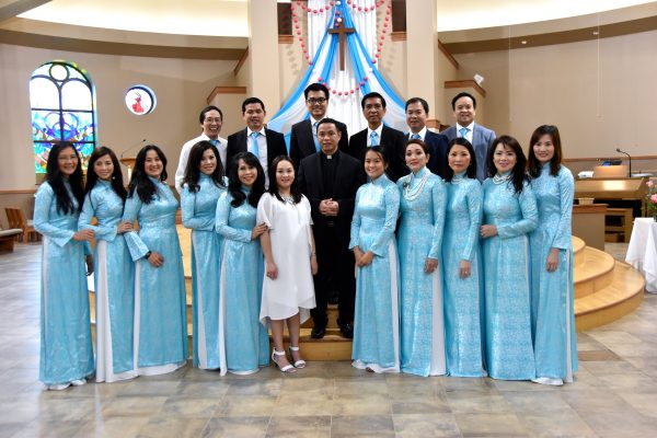 In 2018, Vietnamese Catholics celebrated their 40th anniversary as part of the Milwaukee community with a special mass at St. Martin of Tours in Franklin.