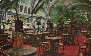 The Schlitz Palm Garden in Milwaukee was a popular and socially accepted weekend gathering place for families.