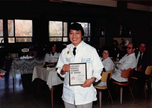 Nao Shoua Xiong, one of the first Hmong refugees to settle in Milwaukee, completed training at Service Master in the early 1980s and opened his own successful cleaning business.