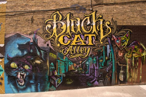 Black Cat Alley, featuring murals from a diverse array of artists, has transformed an underused alley into one of Milwaukee's most popular places to visit.